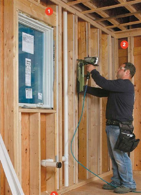 Plumbing Vent Outside Wall by Walls With Interior Rigid Foam Greenbuildingadvisor