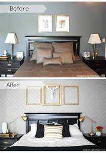 Diy Bedroom Decorating Ideas On A Budget by Decorating A Bedroom On A Budget With Diy Stencils