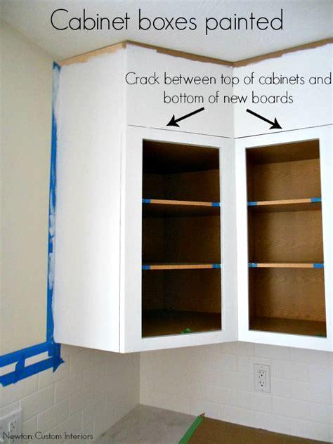 quarter round kitchen cabinets kitchen reveal kitchen cabinet upgrade newton custom