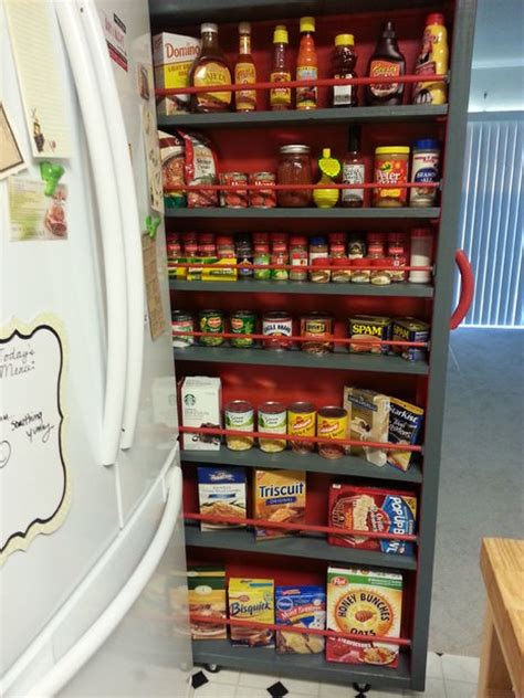 Roll Away Pantry by 17 Clever Ways To Hide Clutter In Your Home