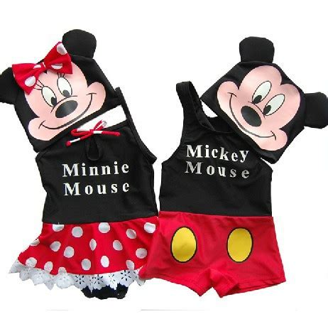 Viccute New Sailor Minnie mickey minnie swimwear new baby boys swimsuit beahwear lovely babies swimming