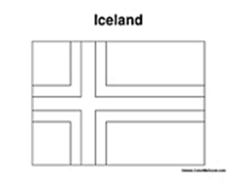 image gallery iceland flag coloring page