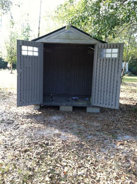 7x7 Rubbermaid Shed by 7x7 Resin Building As Hen House Includes Ideas For