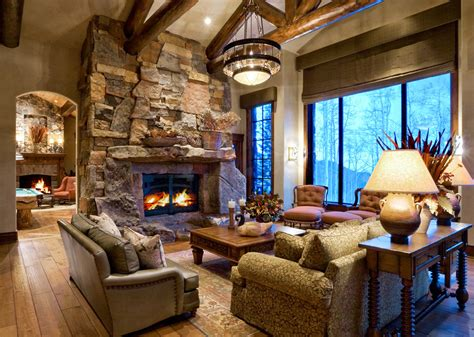 home design story rustic stove mountain home living room chandelier paula berg design associates statement chandeliers