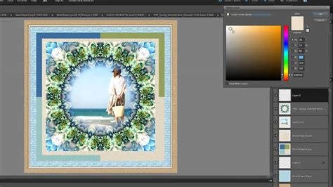 layout download photoshop digital scrapbook layout using adobe photoshop elements 10