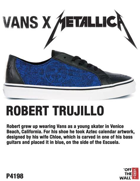 Vans Era Metallica vans x metallica escuela by robert trujillo vans x