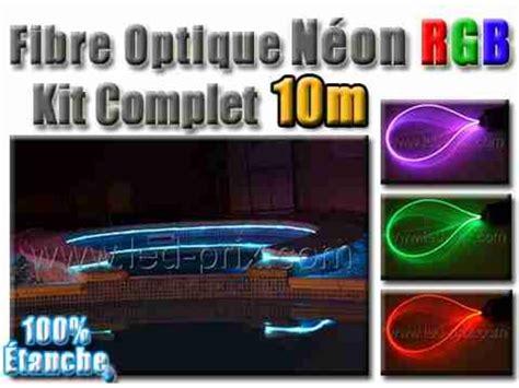 Kit Eclairage Fibre Optique by Fibre Optique N 233 On Rgb Kit Complet 10 M 232 Tres Contact