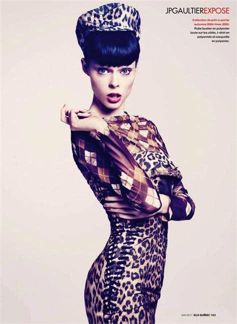 coco quebec coco rocha for elle quebec magazine fashionwithus