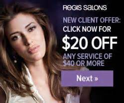 festive and fabulous take 20 any service at regis salons