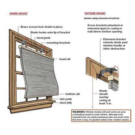 how to install a window blind overview how to install window shades this house