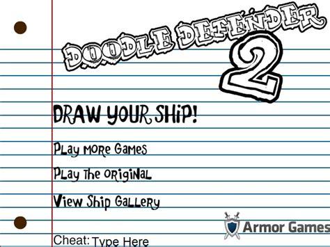 doodle defender drawing doodle defender 2 hacked cheats hacked free