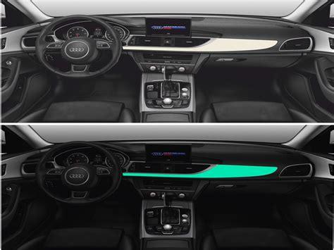 Leuchtende Folie Auto leuchtfolie als meterware oder im zuschnitt