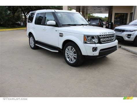 white land rover lr4 2017 2016 fuji white land rover lr4 hse 108755178