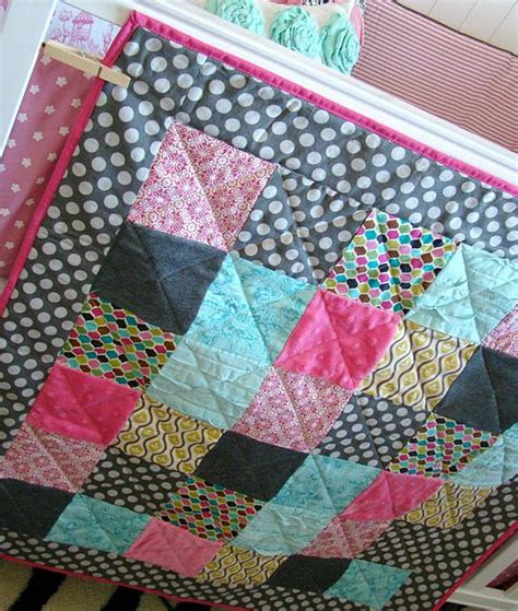 Easy Baby Quilt Tutorial by Crib Quilt Patterns Beginners Woodworking Projects Plans