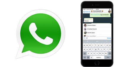 imagenes nuevas de whatsapp whatsapp se actualiza con una nueva funci 243 n que no gustar 225