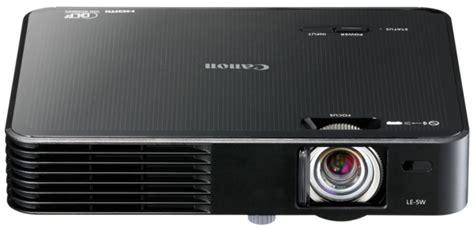 Proyektor Canon Le 5w canon presents ultraportable le 5w multimedia projector