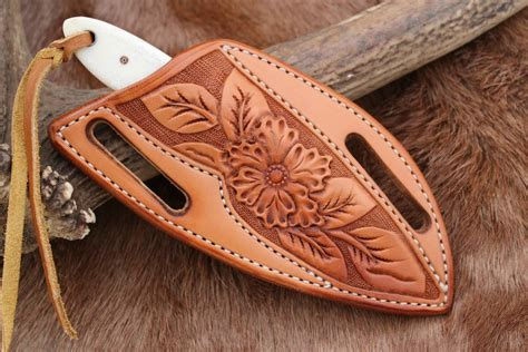 cowboy knife sheath the cowboy and its tooled pancake sheath by dave ferry at