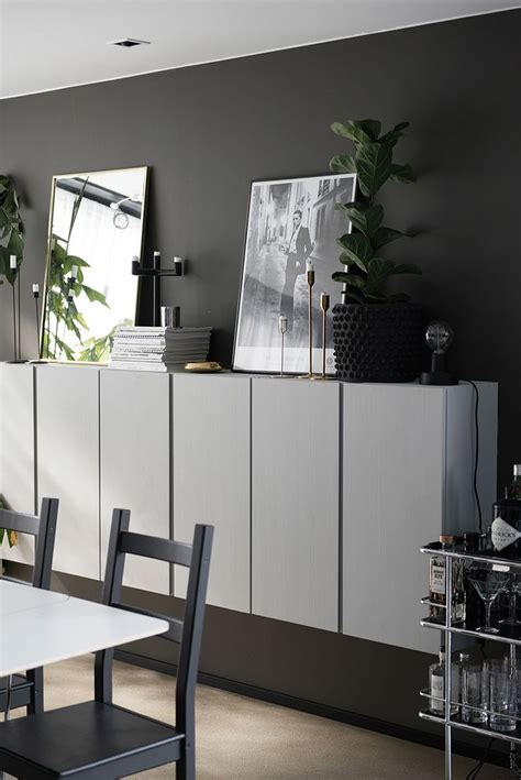 ikea floating cabinet ivar cabinet grey living room pinterest floating
