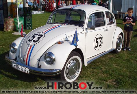 film balap mobil herbie 1 24 herbie vw beetle 1300 decals hd04 0065 hobby design