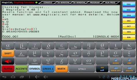 calculator online mod mod android magiccalc graphing calculator v4 31 φ full