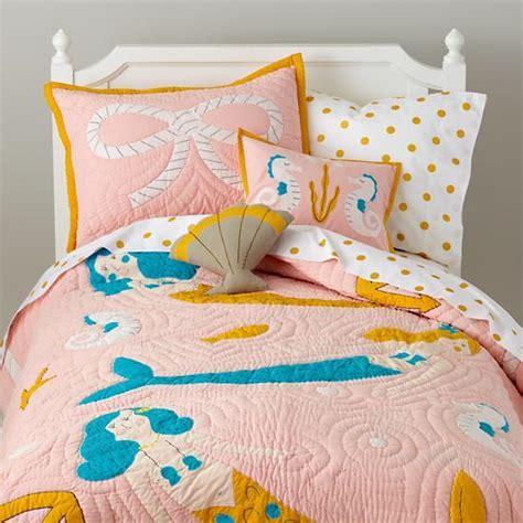 Mermaid Pink Quilt Mermaid Bed Set