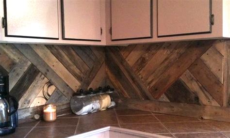 wood backsplash ideas 7 stunning pallet wall designs home tree atlas