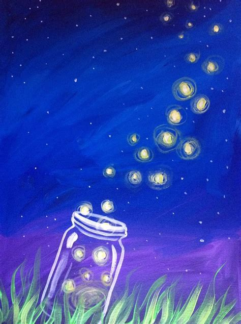 paint nite nh 25 best ideas about firefly painting on