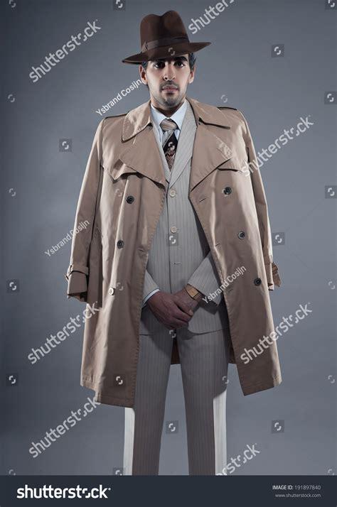 I Want This Wardrobe Mafia by Mafia Fashion Wearing White Striped Suit With Beige