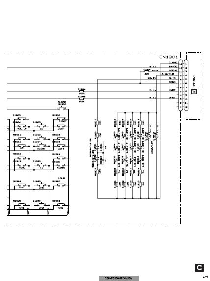 pioneer deh 1500 wiring diagram wiring diagram with