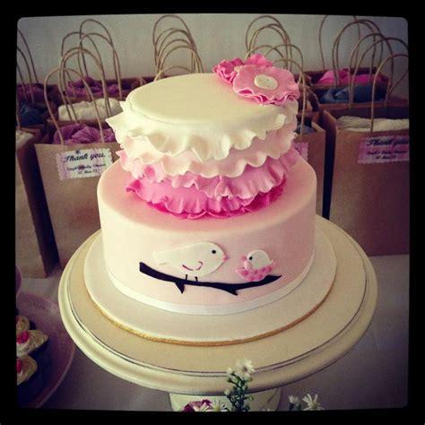 shabby chic baby shower cakes shabby chic baby shower cake baby shower baptism ideas