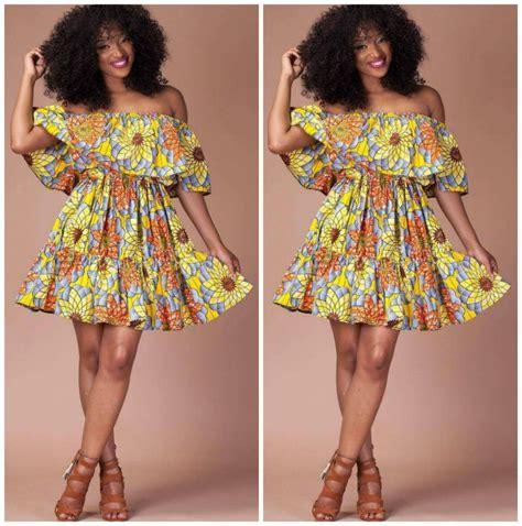 top ten ankara short gown styles  african ladies