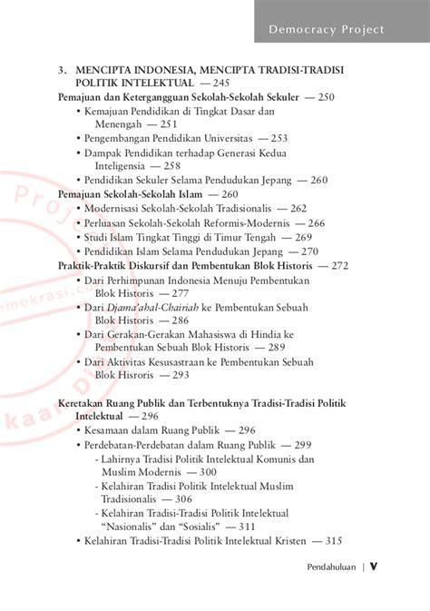 Ruang Publik Identitas Dan Memori Kolektif Jakarta Pasca Soeharto 1 inteligensia muslim dan kuasa yudi latif