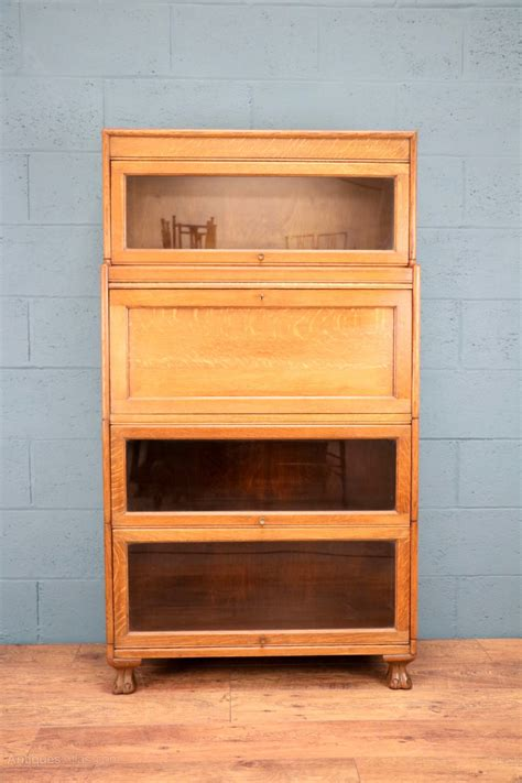 stacking bookcases oak stacking bureau bookcase by gunn antiques atlas