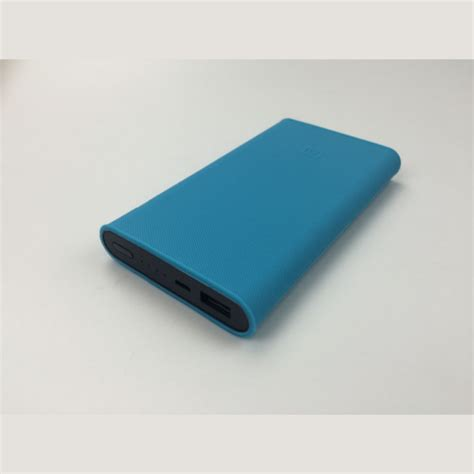 Silicone Cover For Xiaomi Pow 10000mah 2nd Generation Oem Biru silicone protective back cover for xiaomi mi 2nd generation 10000mah power bank alex nld