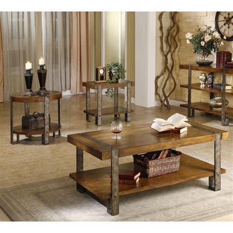 coffee table set of 3 riverside rectangular 3 coffee table set