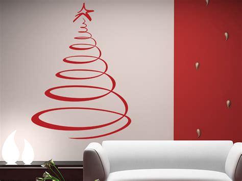 moderner weihnachtsbaum wandtattoo baum bei wandtattoos de