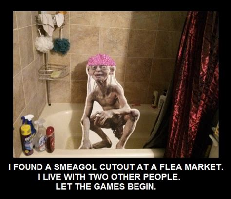 Roommate Bathroom Pranks Gollum