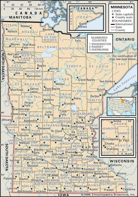 Minnesota Civil Court Records Historical Facts Of Minnesota Counties Guide