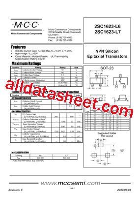transistor l6 smd smd transistor l6 datasheet 28 images 2sc1623 l6 datasheet pdf micro commercial components