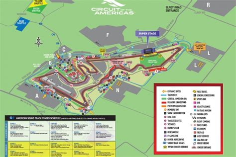 circuit of the americas map maps circuit of the americas