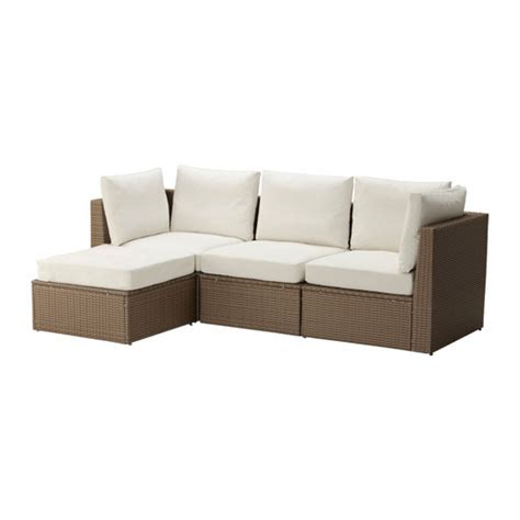 ikea outdoor sectional arholma sofa with footstool outdoor ikea