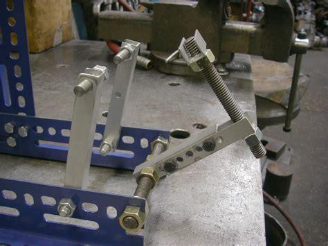 diy wheel truing scrap metal challenge diy bike wheel truing stand