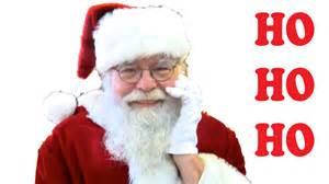 ho ho ho merry christmas santa claus youtube