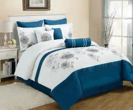 Blue And White Bed Set Blue And White Bedding Sets Bed Mattress Sale