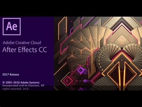 Paket Adobe After Effects Cc Tutorial adobe after effects cc 2017 basics