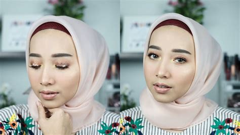 tutorial makeup fathi nrm nyobain makeup baru ponds bb magic powder bagus banget