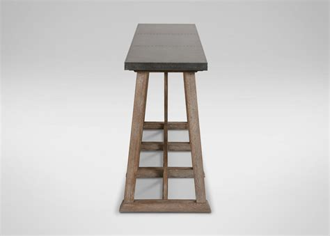 metal top console table bruckner metal top console table console tables