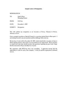 draft letter for resignation 25 unique sle of resignation letter ideas on
