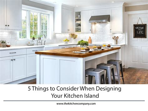 designing kitchen island 5 things to consider when designing your kitchen island