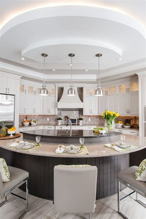 circular kitchen island circular kitchen design a guide to 6 kitchen island styles